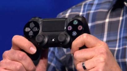 Este es el mando de PS4