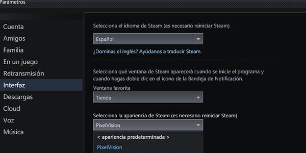 Parametros Steam