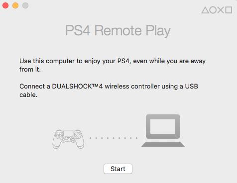PS4 remoto Paso 3