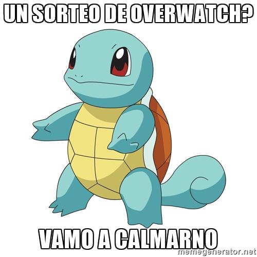 SORTEO OVERTWATCH VAMO A CALARMANO