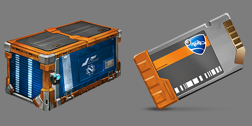 Cajas de recompensas de  Rocket League