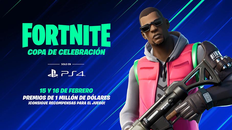 Fortnite Copa de Celebración