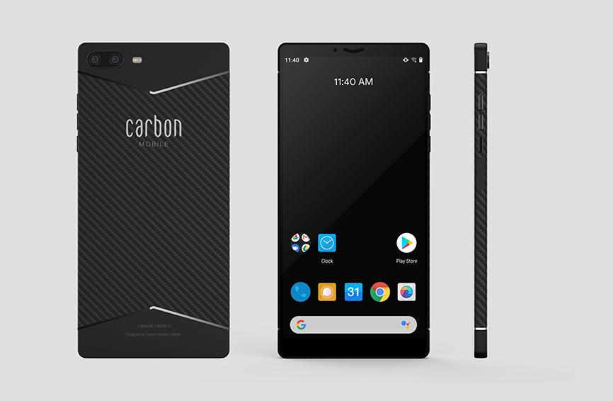 smartphone Carbon 1 Mark II