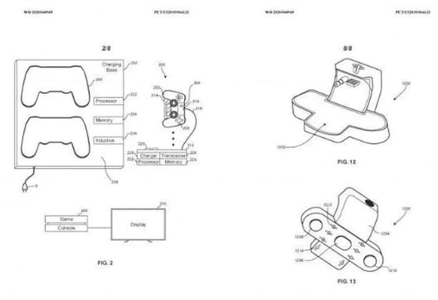 Dualshock 5 patente