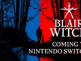 lanzamiento blair witch nintendo switch