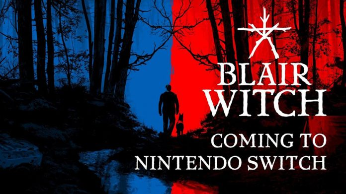 lanzamiento blair witch nintendo switch