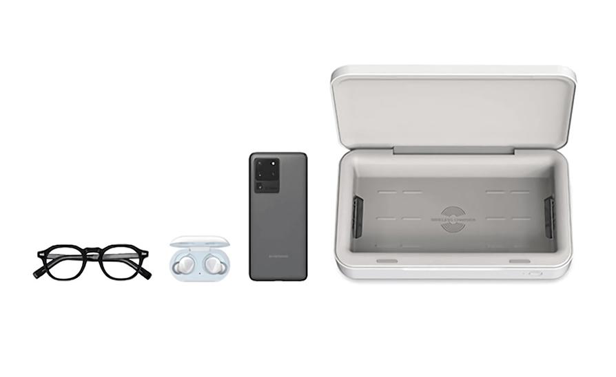 desinfectar smartphones samsung esterilizador uv