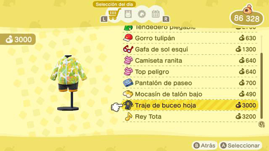 conseguir traje de buceo animal crossing new horizons