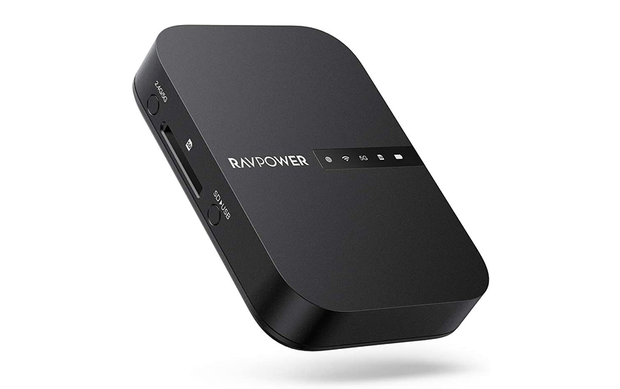 RAVPower FileHub router portátil powerbank servidor disco duro externo