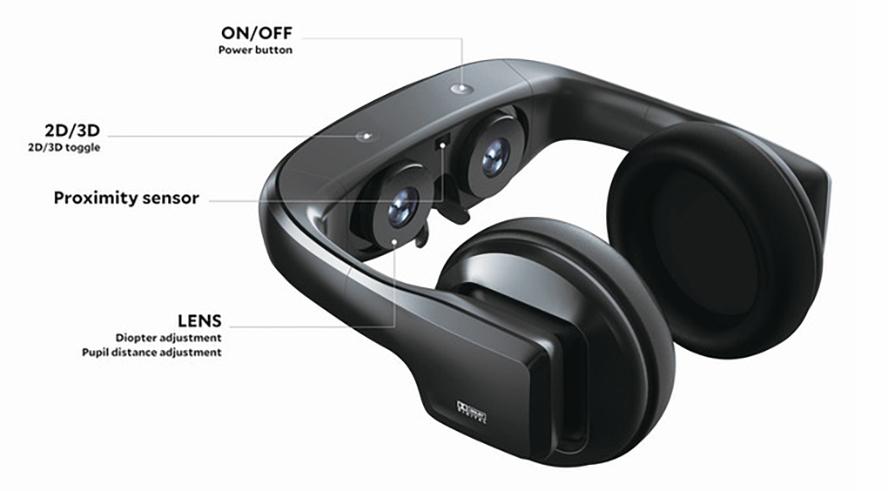 cinera edge cine personal realidad virtual peliculas series