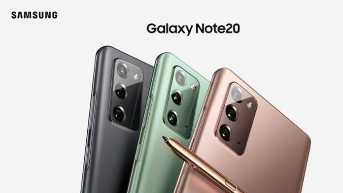 presentación smartphones samsung galaxy note 20 y note 20 ultra