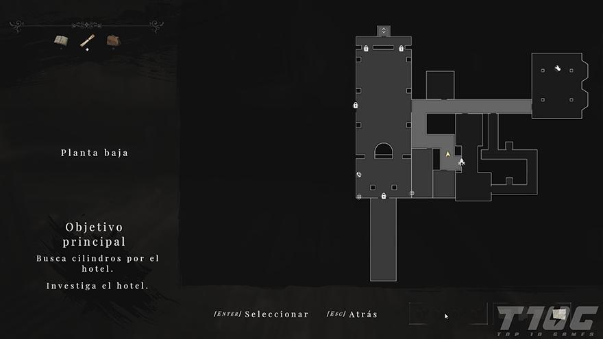 mapa planta baja maid of sker
