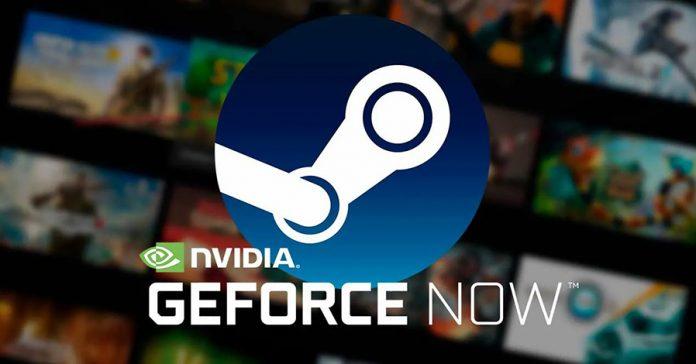 GeForce Now sincroniza biblioteca Steam