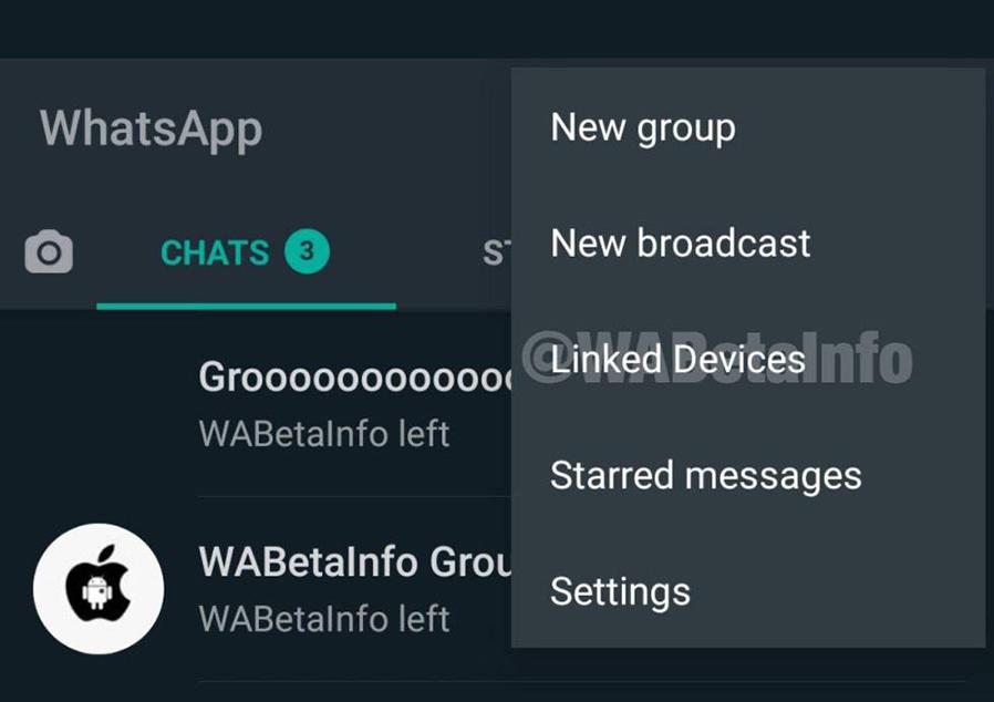 Dispositivos enlazados whatsapp misma cuenta