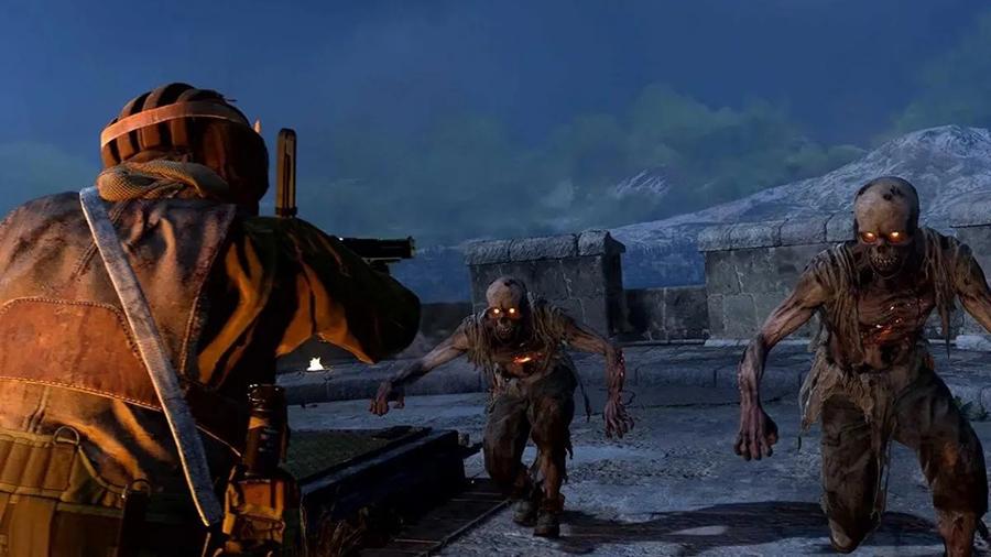 Zombies invadiendo el mapa Verdansk en Warzone