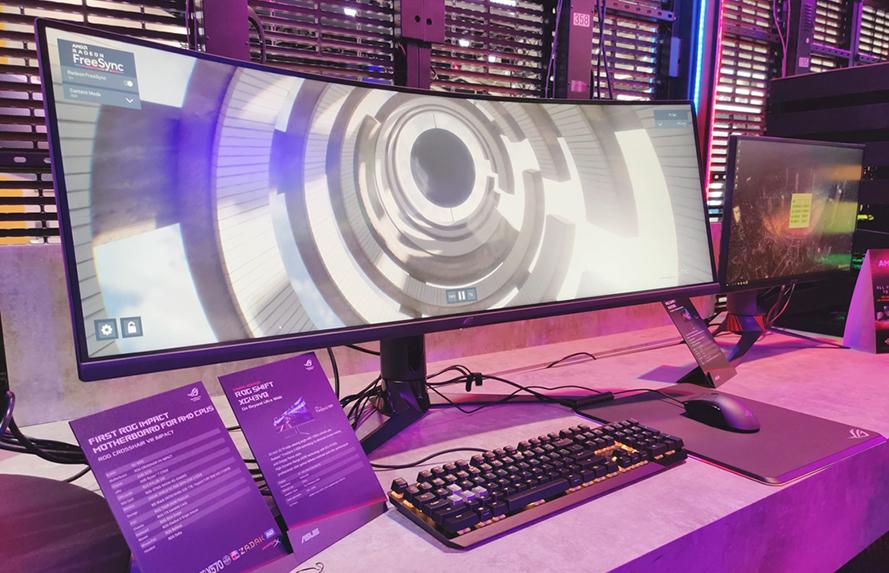 monitor asus XG43VQ