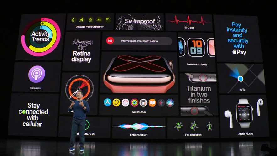 características apple watch series 5