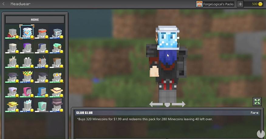 editor de personajes minecraft