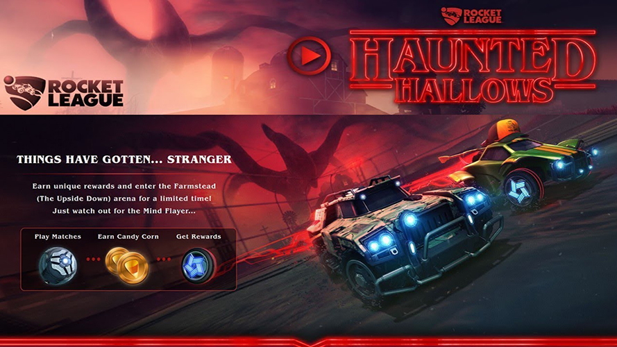 rocket league haunted hallows