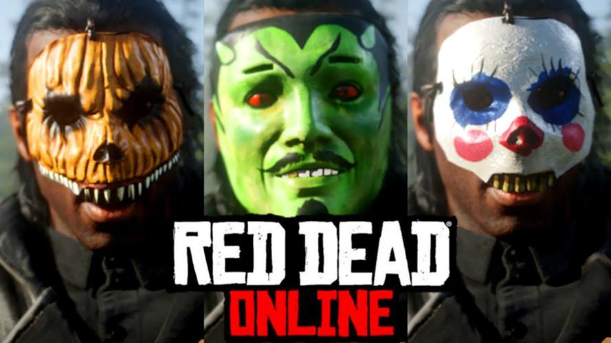 red dead online halloween